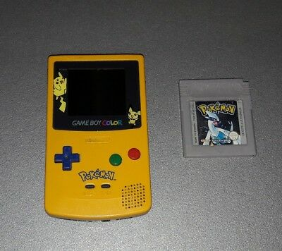 Nintendo Game Boy Color Pokemon Gelbe Edition Eur 64 99
