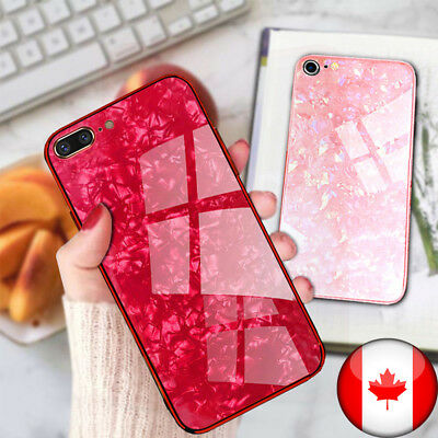 For iPhone Case Marble Luxury Thin Slim TPU Stylish Cover - Canadian Shipping
