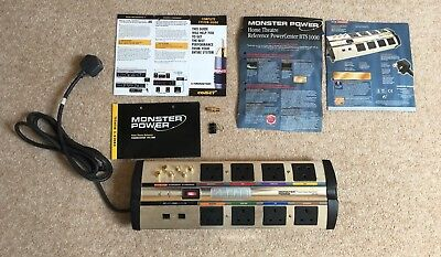 Monster Power Home Theatre PowerCenter HTS1000 II Conditioning Surge Protector