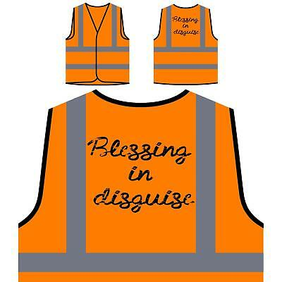Blessing  In  Disguise  Yellow/Orange Safety Vest k378v