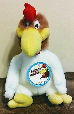 """Foghorn Leghorn Plush 1987 10"""" Rooster Looney Tunes Warner Brothers With Tags"""