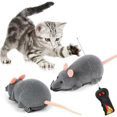 Remote Control Mouse Toy Wireless Rat Plush Electronic Funny Dog Cat Kids Toys