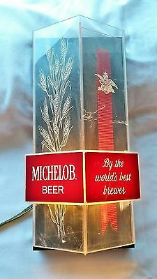 Vintage Michelob Light Up Bar Sign Collectible Beer Advertising mancave antique