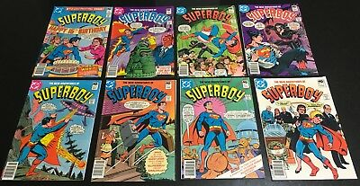 Lot of 15 issues New Adventures of Superboy #1 to #22 - 1980 series  Bronze Age