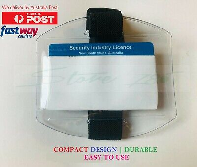 Armband security badge holders Arm band security Id badge holders