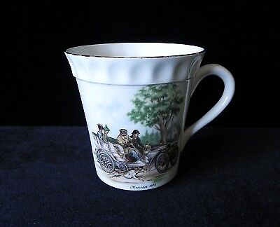 Crown Staffordshire 1904 MERCEDES BENZ TEA CUP Coffee