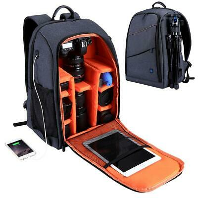 Waterproof Camera Backpack Shoulder Bag Outdoor Photography For DSLR SLR  Canon