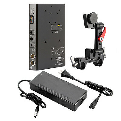 JTZ DP30 C5 CCUPS V-mount Power Supply BP Battery Plate DSLR Rig for BMCC Sony
