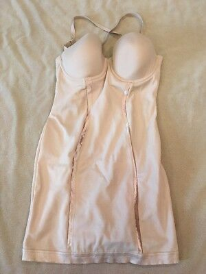 d5e457bd78212 ... Maidenform 83956 Underwire Firm Control Body Briefer Shapewear Nude~  36D.