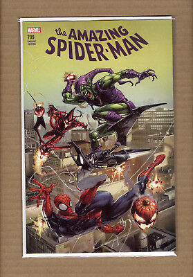 Amazing Spiderman 799 Clayton Crain Variant Green Red Goblin  Limited 3000 Nm/mt