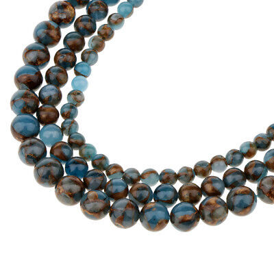 Gorgeous Natural Agate Gemstone Smooth Round Loose Beads 6mm-10mm Jewelry Craft