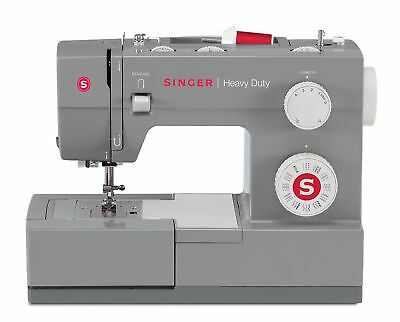 SINGER | Heavy Duty 4432 Sewing Machine with 32 Built-In Stitches, Automatic