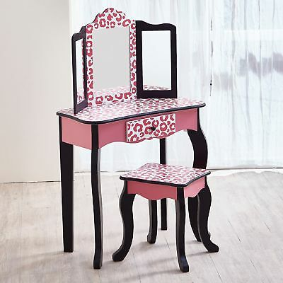 Guidecraft Classic Vanity And Stool Set 115 88 Picclick