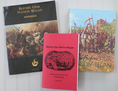 Before Our Nation Began Text, Workbook, or Answer Key ~ Gr. 4 OLVS History