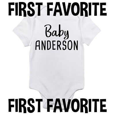 Lightning baby bodysuit shirt infant shower customized personalized name and number 100/% cotton one piece shirt t-shirt tee