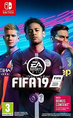 Fifa 19 (Nintendo Switch) Brand New & Sealed UK PAL