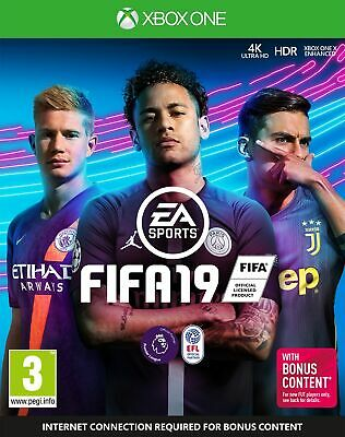 Fifa 19 (Xbox One) Brand New & Sealed UK PAL Free UK Postage