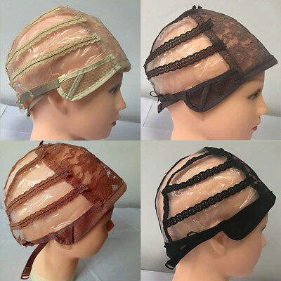 1Pc Creative Wig Cap Making Wigs Straps Lace Breathable Mesh Weaving Adjustable