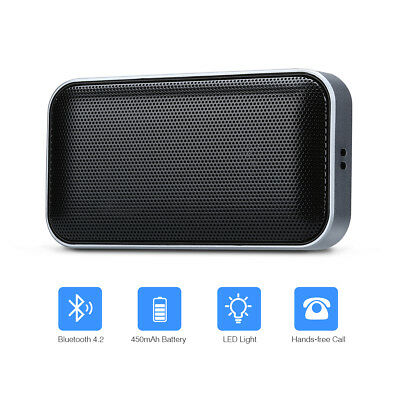 AEC BT 209 Portable Wireless Bluetooth 4.2 Speaker Mini Stereo Music Loudspeaker
