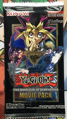 Movie Pack MVP1 The Dark Side of Dimensions Yu-Gi-Oh! Booster OVP NEU DEUTSCH NM