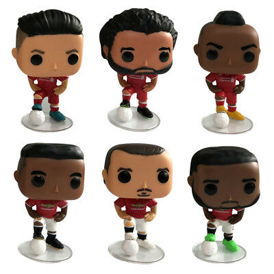 Funko POP Paul Pogba Roberto Firmino Mohamed Salah Sadio Football Star Figure