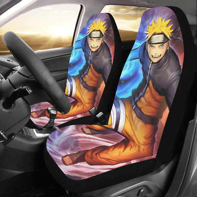 New Design Custom Naruto Protector Cushions Car Seat Covers (Set of 2)