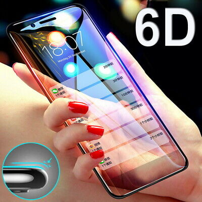 6D Full Cover Tempered Glass Screen Protect Film For Samsung A9 A7 J4 J6 J8 2018