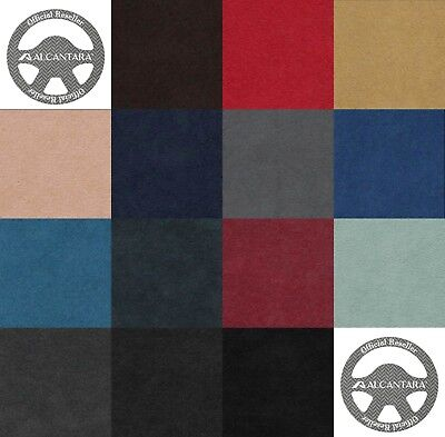 Official Alcantara fabric Pannel 14 Colors 1.42 m x 1 m 1.55 yd X 1.09 yd Wide