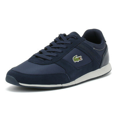 14039c07bb6 Lacoste Mens Trainers Navy Menerva Sport 318 1 Lace Up Sport Casual Shoes