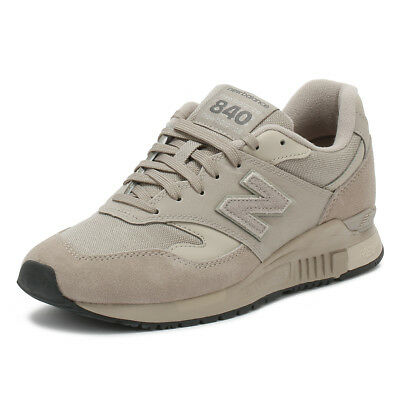 best sneakers 26e19 0e77a New Balance Mens Trainers Grey 840 Lace Up Suede Classic Sport Casual Shoes