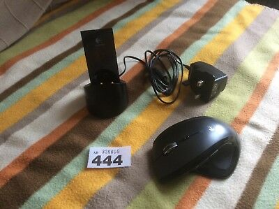 5158e46c13d Logitech MX Revolution Performance Laser Cordless Mouse & Charger Dock  Bluetooth