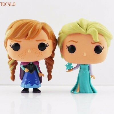 Funko Pop Frozen Elsa & Anna vinyl figure 10cm in box