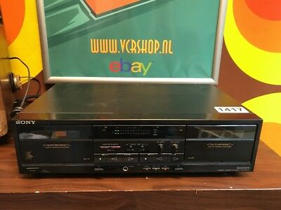 Sony TC-WR520 - Stereo Cassette Deck (needs New Belts)
