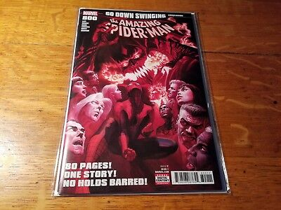 Amazing Spider-Man #800 Alex Ross Cover 1St Print Green Red Goblin Nm
