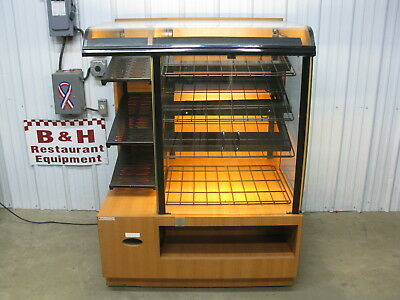 "CSC 42"" Self Serve 2 Door Glass Bakery Donut Dry Display Show Case 3' 6"""
