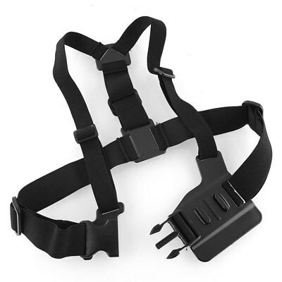 Adjustable Chest Strap Harness Mount for GoPro Action Camera SJCAM Xiaomi Yi