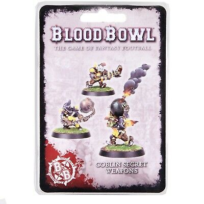 Blood Bowl Goblin secret weapons Fantasy Football Forge World