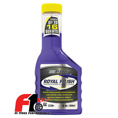 Royal Purple Royal Flush Radiator Cleaner Pulisce Sistema Raffreddamento 355ml