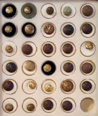 Civil War/Indians Wars/Early 20th Century Military Button Collection