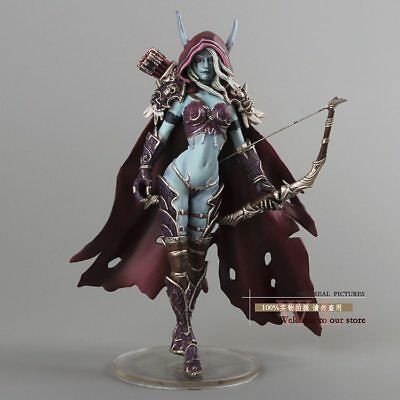 WOW Sylvanas Windrunner Action Figure World Of Warcraft Fall Of The Lich King 15