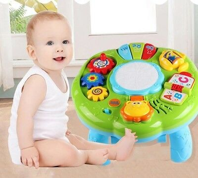 Baby Toys Musical Learning Educational Kids Toy Music Table Toddler Gift