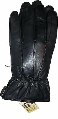 New Men's leather Gloves, Unbranded Leather winter Gloves lined warm Gloves BNWT