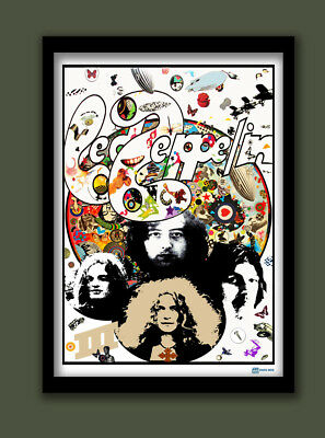 LED ZEPPELIN POSTER , LED ZEPPELIN III PROMO POSTER .LARGE A2 (40X60cm) . CLASSI