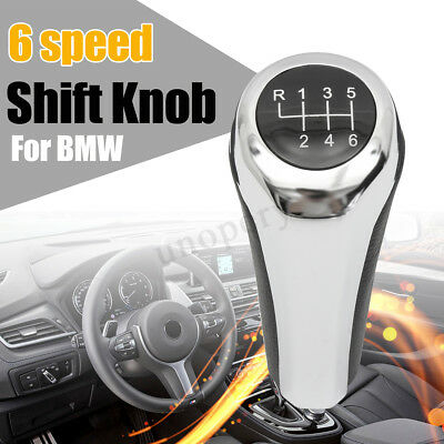 6 Speed Gear Shift Stick Lever Knob For BMW 1 3 5 6 7 Series X1 X3 E46 E60 E90