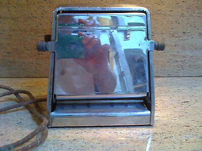 Vintage Westinghouse Toaster With Flip Down Sides
