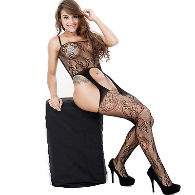 Super Sexy Body stockings Lingerie Playsuit Sex Play Underwear Babydoll Jumpsuit