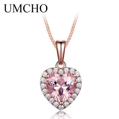 1a9fc65338 UMODE HEART FLOWER Snow Flake 925 Sterling Silver Necklaces Pendants ...