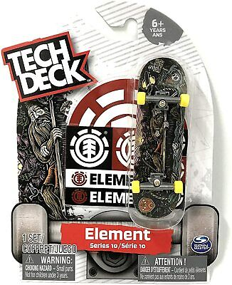 Tech Deck ELEMENT Skateboards Series 6 Wind Water Fire Earth Rare Fingerboard with Stickers SpinMaster LTD