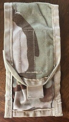 USGI Military Issue MOLLE II Double Mag Pouch 3 Color Desert Camouflage DCU