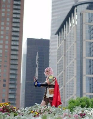 Final Fantasy 13 - Lightning Farron Cosplay; Handmade, modified